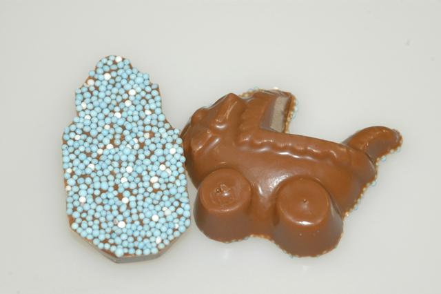 Geboorte Kinderwagen blauw