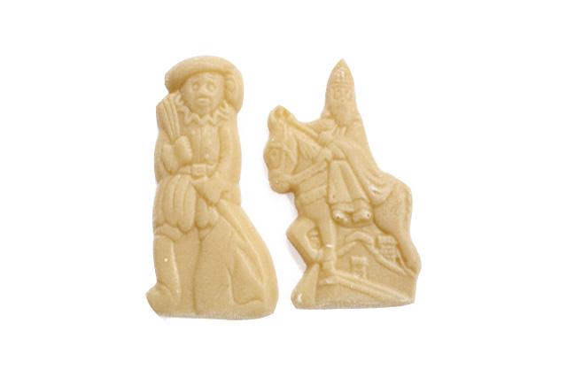 Mini Sint en Piet wit