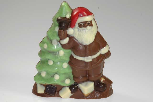Kerstman/boom