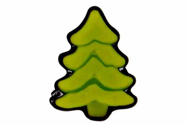 Kerstboom marsepein