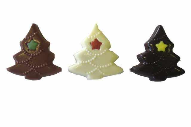 Kerstboom reliëf