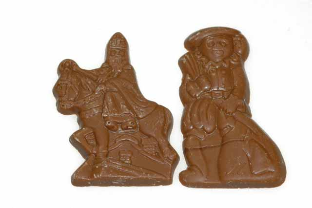 Mini Sint en Piet melk