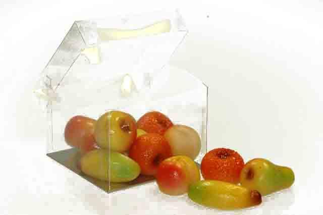 Klein fruit verpakt