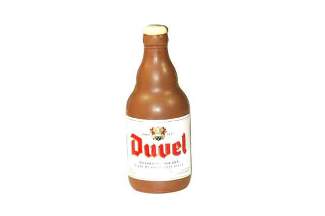 Duvel fles melk
