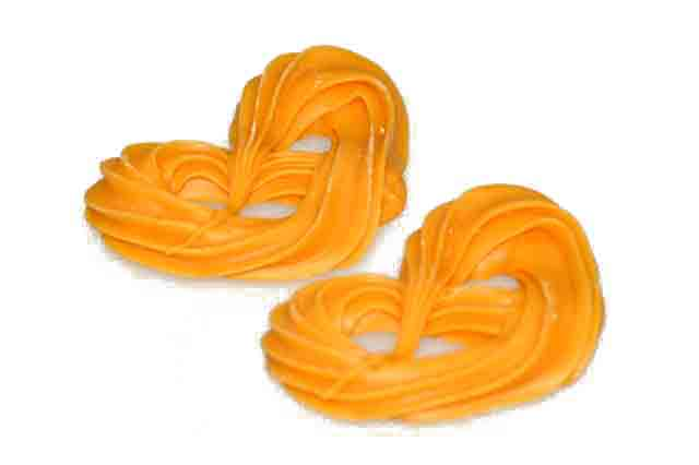 Oranje krakelingen