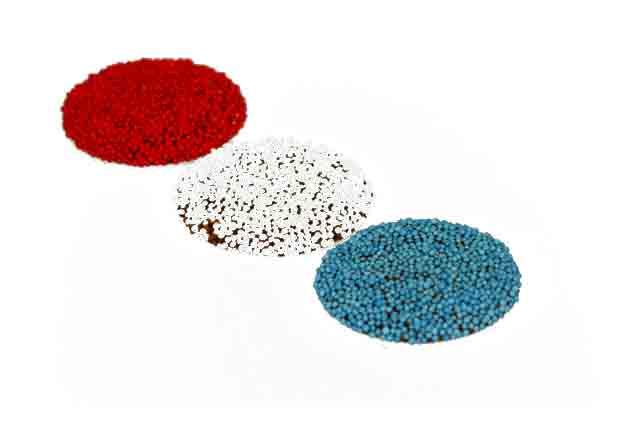 Musketflikken rood, wit, blauw