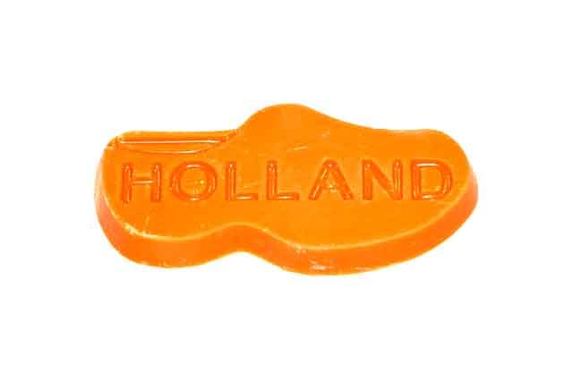 Oranje klomp
