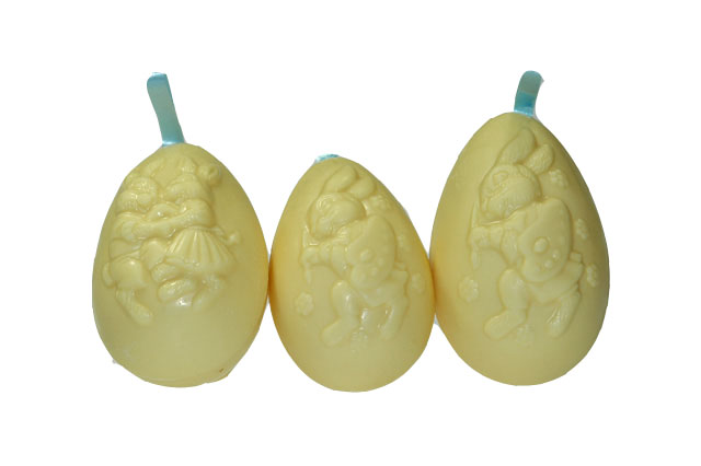 Lint eieren wit
