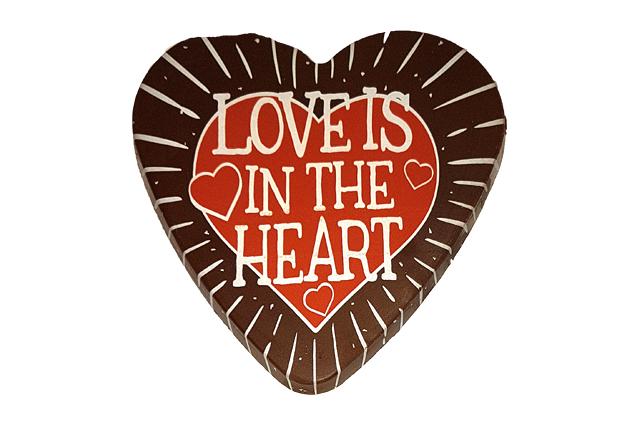 Love Is In The Heart Van Ekris Chocolade