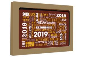 11-90499 Kaart Gelukkig nieuwjaar